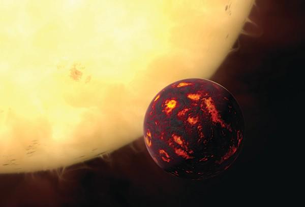 Artist's impression of 55 Cancri e © Getty Images