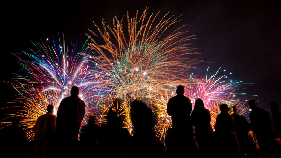 How it works: fireworks. © Getty Images