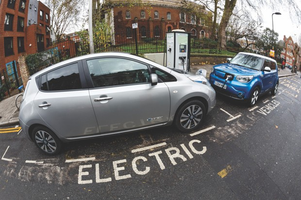 On-street charging will become an increasingly common sight on Britain's roads © Getty Images