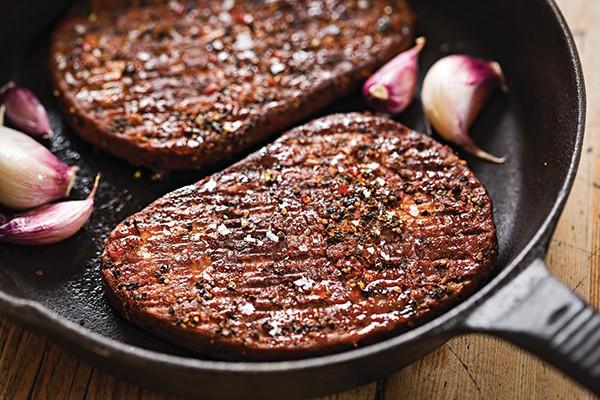 Mycoprotein steak © Getty Images