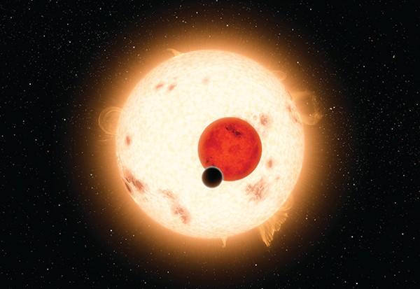 Artist impression of Kepler 16B © Getty ImagesArtist impression of Kepler 16B © Getty Images
