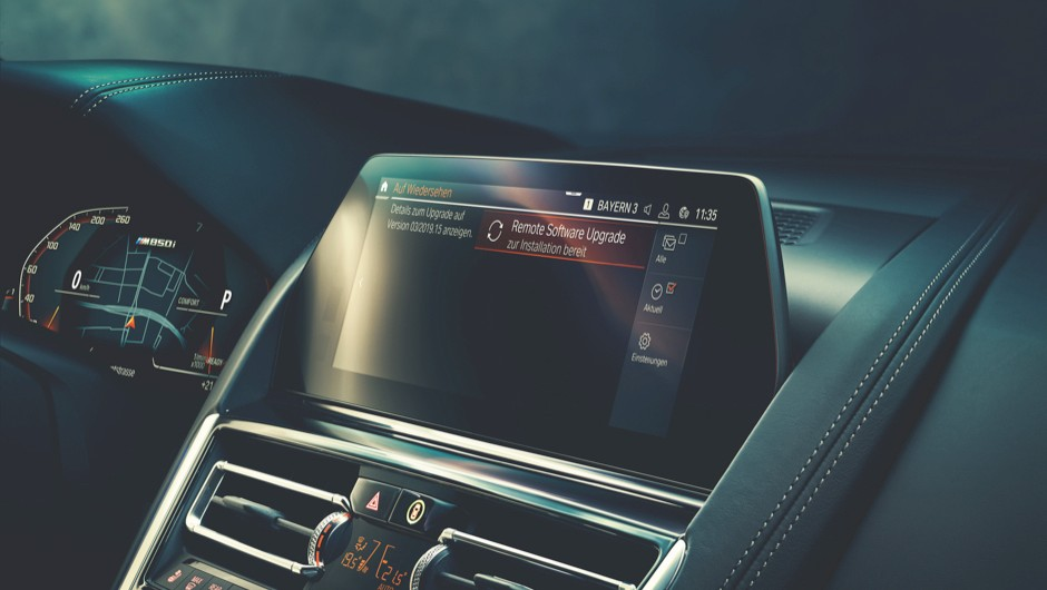 Voice-command tech lets you talk to BMW's Intelligent Personal Assistant more conversationally (in various languages) © BMW