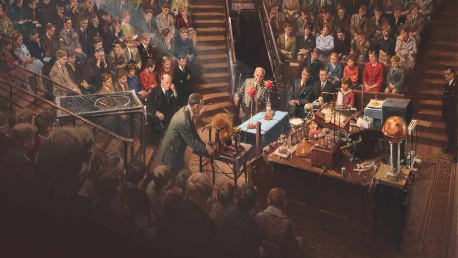 10 extraordinary objects from the Royal Institution Christmas Lectures (image painted by Terence Cuneo)