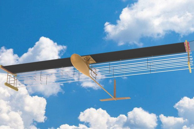 Star Trek-inspired aeroplane powered by 'Ionic wind' takes flight © Christine Ye He/MIT/Nature