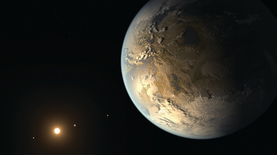 The hunt for exoplanets © Getty Images