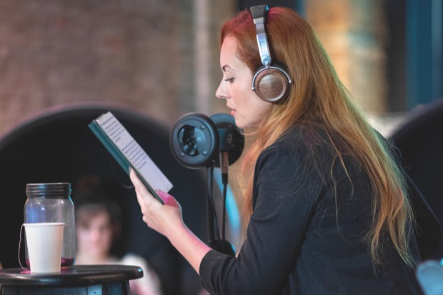 ASMR videomaker Emma WhispersRed held a live event in New York this summer for ASMR enthusiasts © Emma WhispersRed