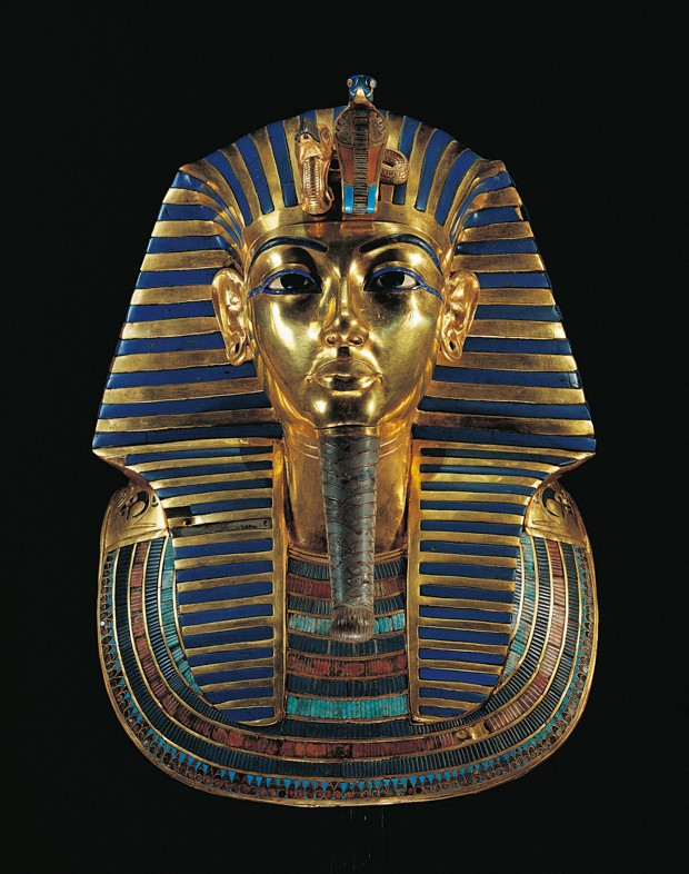 Tutankhamun's magnificent gold mask © Getty Images