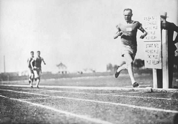 Finnish middle-distance runner Paavo Nurmi incorporated high-intensity interval training into his regime. He broke 22 world records and won nine Olympic gold medals during his career © Getty Images