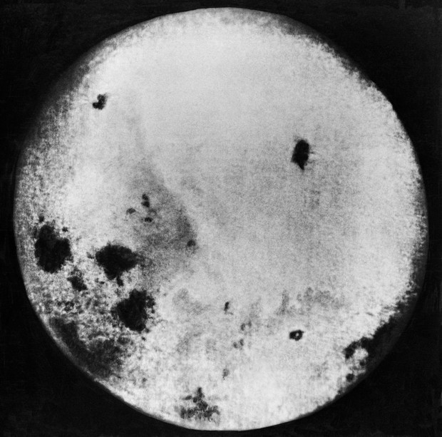 The first photos of the far side of the Moon were taken in 1959 by the Soviet probe Luna 3 © Getty Images