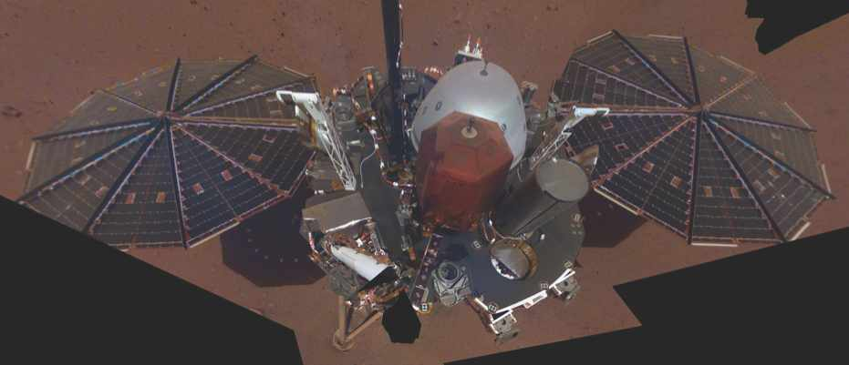 More InSight selfies from the surface of Mars, please…