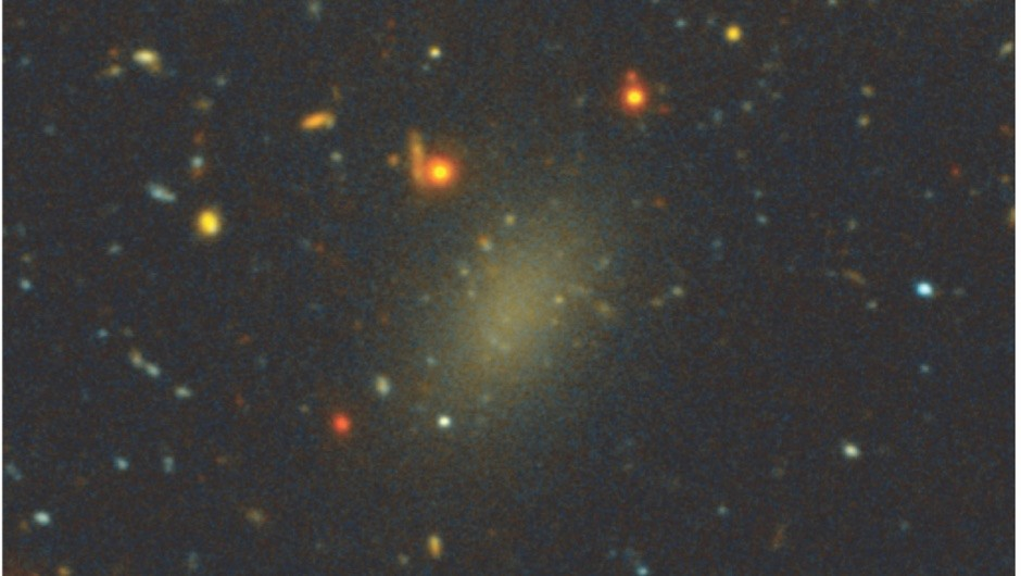 A galaxy comprised of dark matter may orbit the Milky Way © Pieter van Dokkum/Roberto Abraham/Gemini Observatory/SDSS/AURA