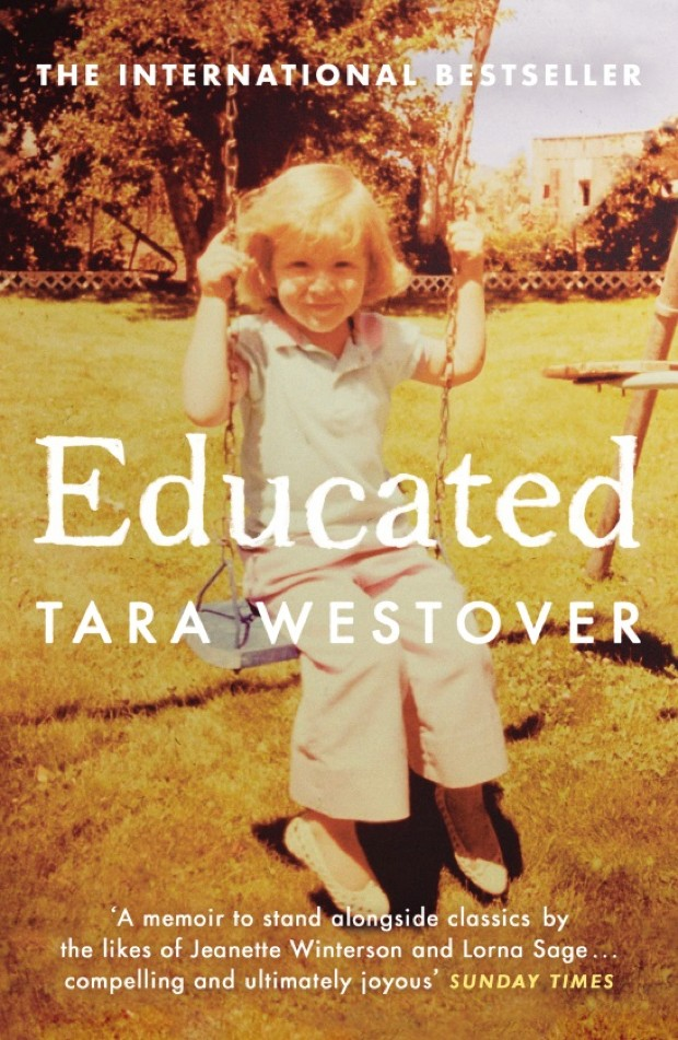 Educated by Tara Westover (USA), Non-fiction (Windmill Books/Cornerstone)