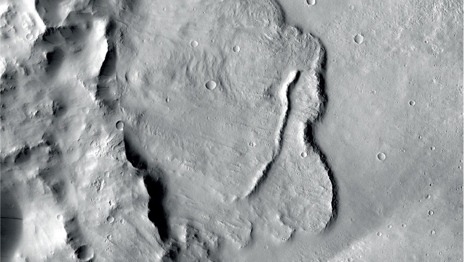 Signs of ancient flowing water found on Mars © NASA/JPL-Caltech/MSSS