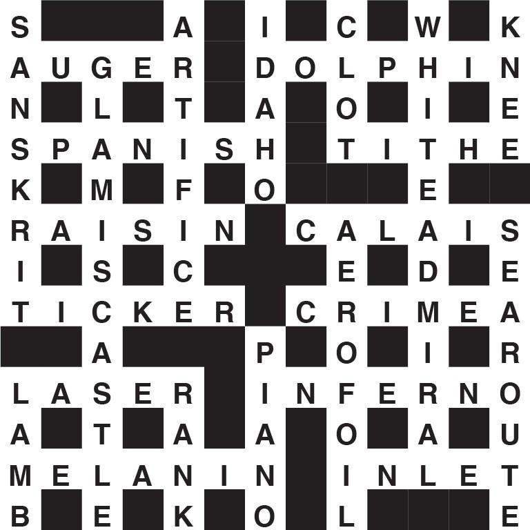 BBC Focus Crossword solution #332
