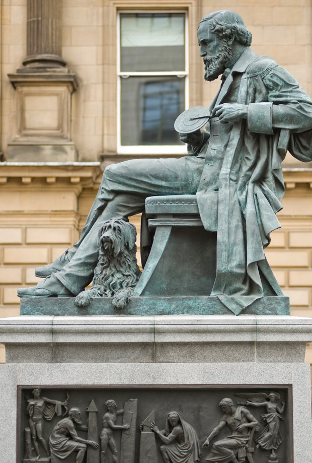 Statue of James Clerk Maxwell, Edinburgh © Getty Images
