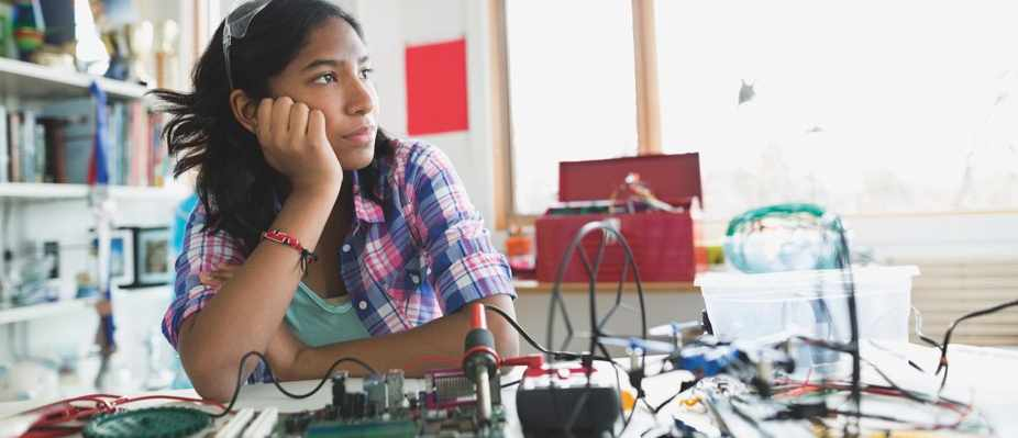 Why are girls put off science? © Getty Images