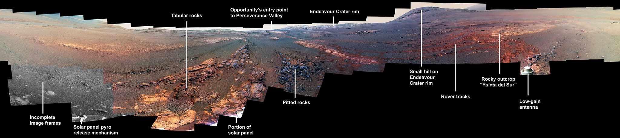 NASA Mars Exploration Rover Opportunity © NASA/JPL-Caltech/Cornell/ASU