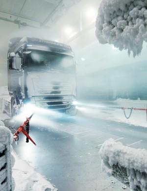 Scania test facility, Sweden © Scania