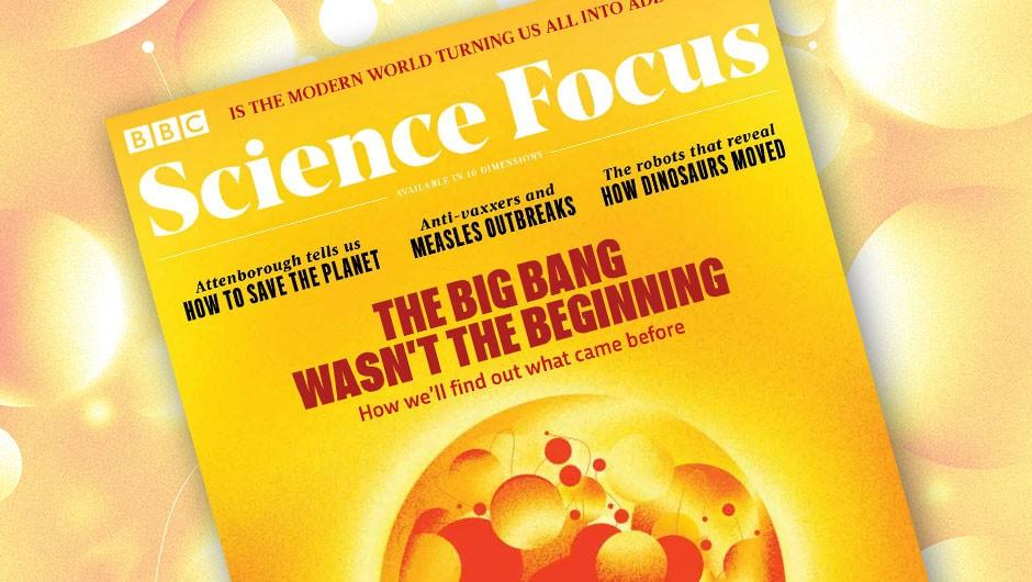 The Big Bang wasn't the beginning - April 2019