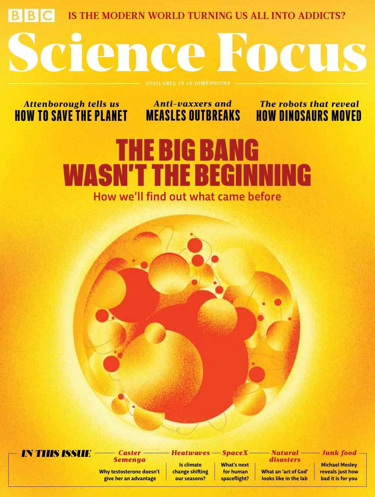 The Big Bang wasn't the beginning