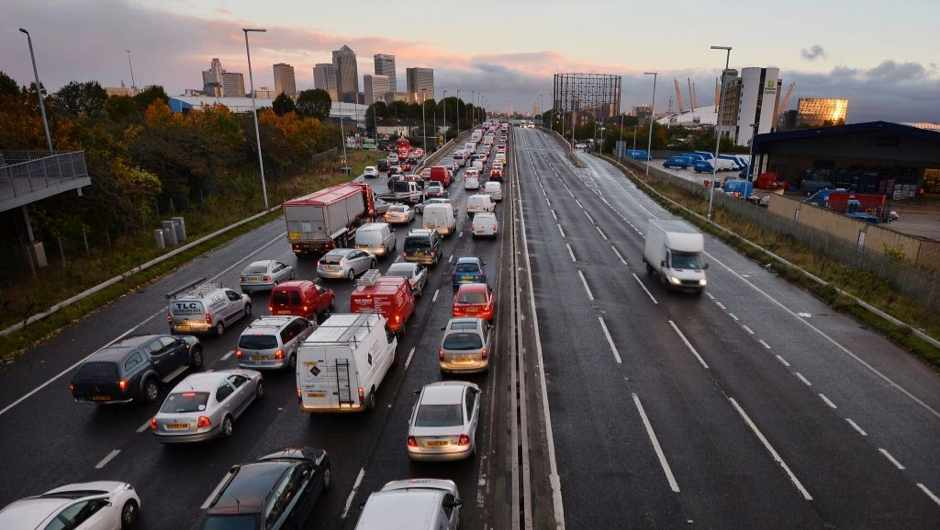 Why is traffic on my commute better on Friday mornings? © Getty Images