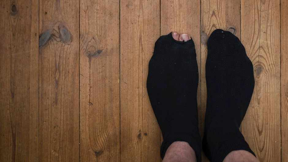I can't stop smelling my socks. Am I weird? © Getty Images