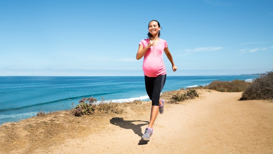 Mums to be who exercise may be more likely to have slimmer kids © Getty Images