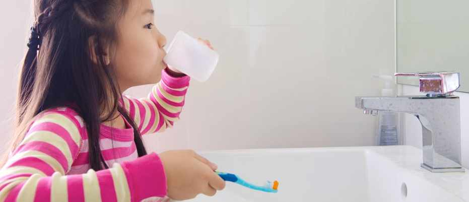 Should children use mouthwash? © Getty Images