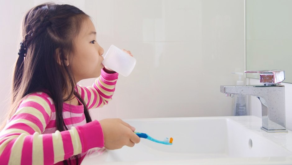 Should children use mouthwash? © Getty Images