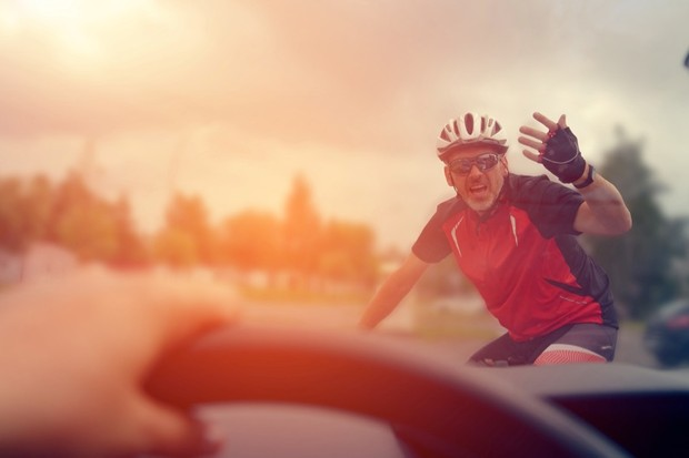 More than half of motorists view cyclists as subhuman 'cockroaches' © Getty Images
