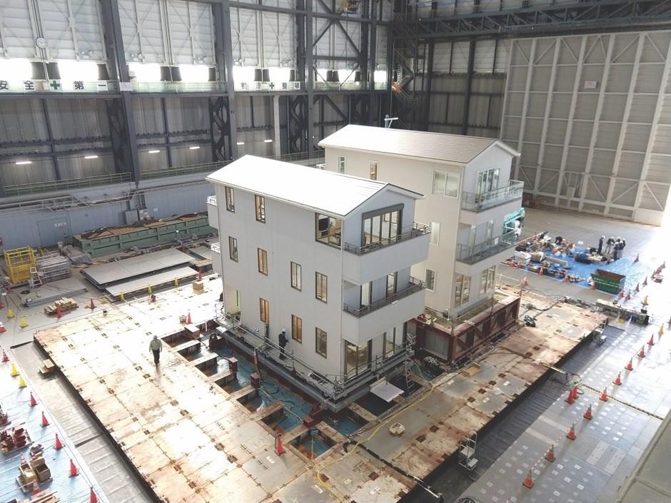E-Defense facility, Japan © Maria Koliou, Texas A&M University