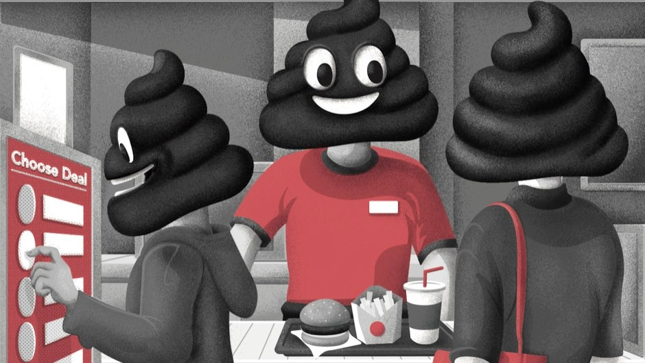 Is there really poo everywhere? © DanBright
