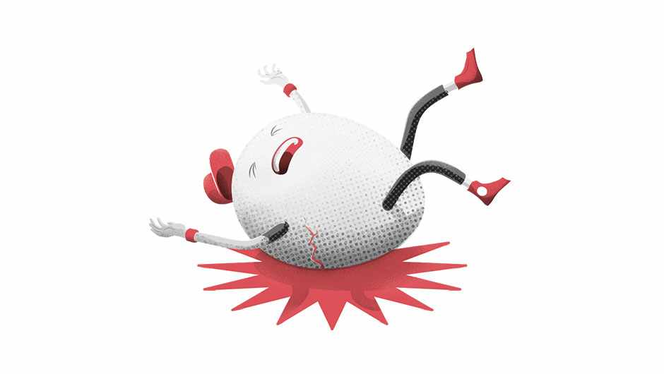 My friends call me 'Humpty Dumpty' because I'm always falling over. Can my clumsiness be cured?