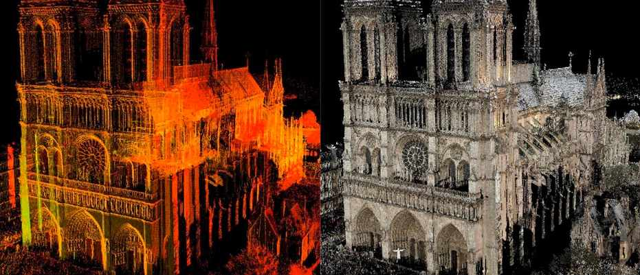 Notre-Dame: How faithfully can we rebuild the cathedral with modern tech? © Andrew Tallon, Vassar College