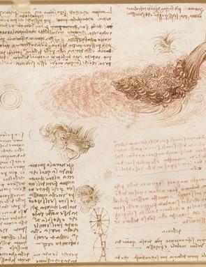 Studies of water, c.1510-12 (Royal Collection Trust / © Her Majesty Queen Elizabeth II 2019)