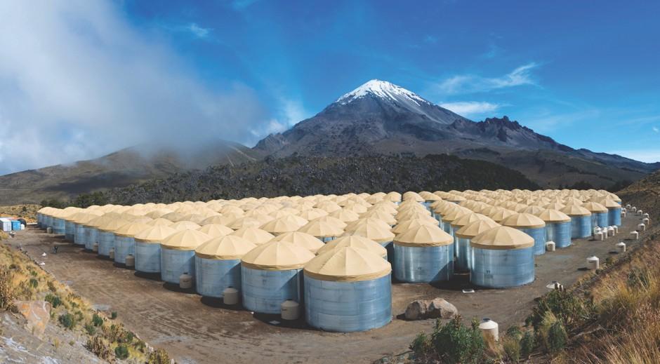 Tanks a lot © Hawc Observatory