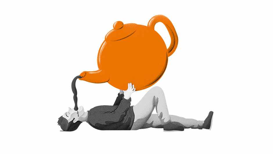 Is it possible to drink too much tea? © Dan Bright