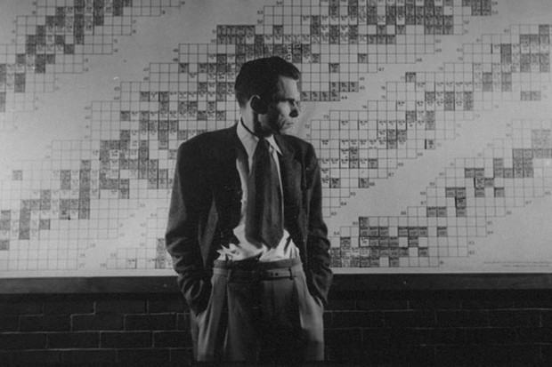 The weird ways extraordinary scientists made synthetic elements (© Dr. Glenn T. Seaborg, standing in front of a map of the Laboratory © Fritz Goro/The LIFE Picture Collection/Getty Images)