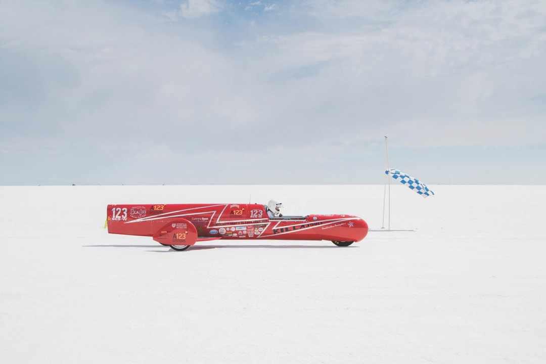 Bonneville Salt Flats, Utah © Alamy