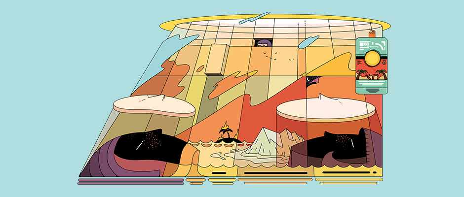 A scientist's guide to life: how to stay safe in the Sun (Illustration © Ori Toor)