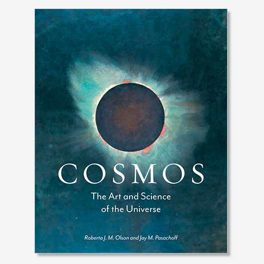 Cosmos: The Art and Science of the Cosmos by Roberta J.M. Olson and Jay M. Pasachoff is published on 31 July 2019 (£35, Reaktion)