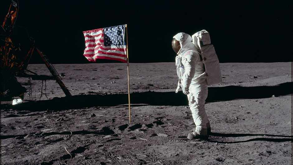 The Space Race: how Cold War tensions put a rocket under the quest for the Moon © NASA