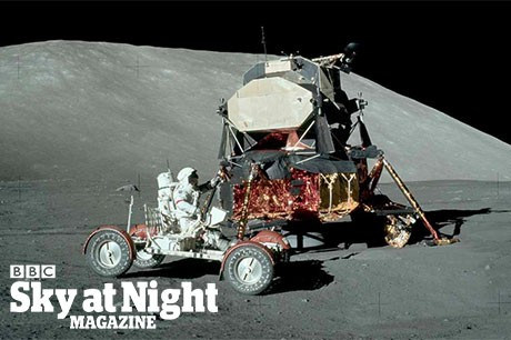 Where did the Apollo astronauts land on the Moon? © NASA