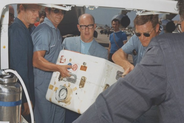 How 22kg of lunar rocks delivered by Apollo 11 changed our understanding of how the Moon formed (Apollo 11 brought back the first samples from the Moon – seen here arriving at the Lunar Receiving Lab in Houston, Texas © Getty Images)