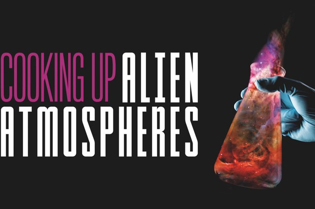 Cooking up alien atmospheres © Getty Images