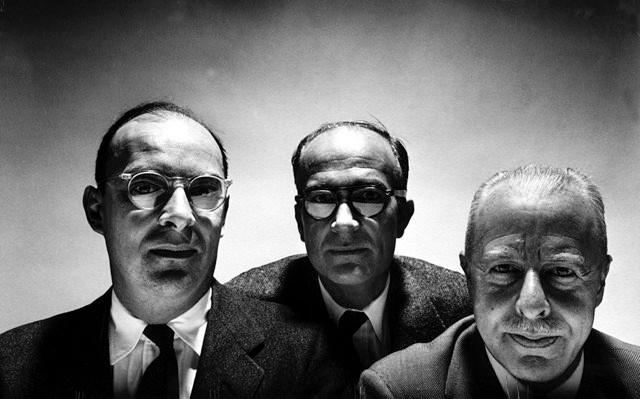 Bell Labs scientists John Bardeen (L), William Shockley (C) & Walter Brattain (R) © Yale Joel/The LIFE Picture Collection via Getty Images/Getty Images