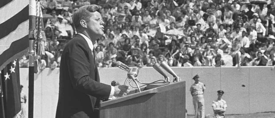 """We choose to go to the moon"": Read JFK's Moon speech in full © Getty Images"