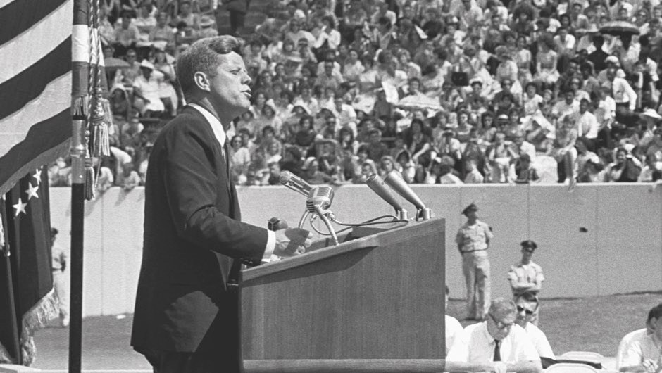 """""""We choose to go to the Moon"""": Read JFK's Moon speech in full"""