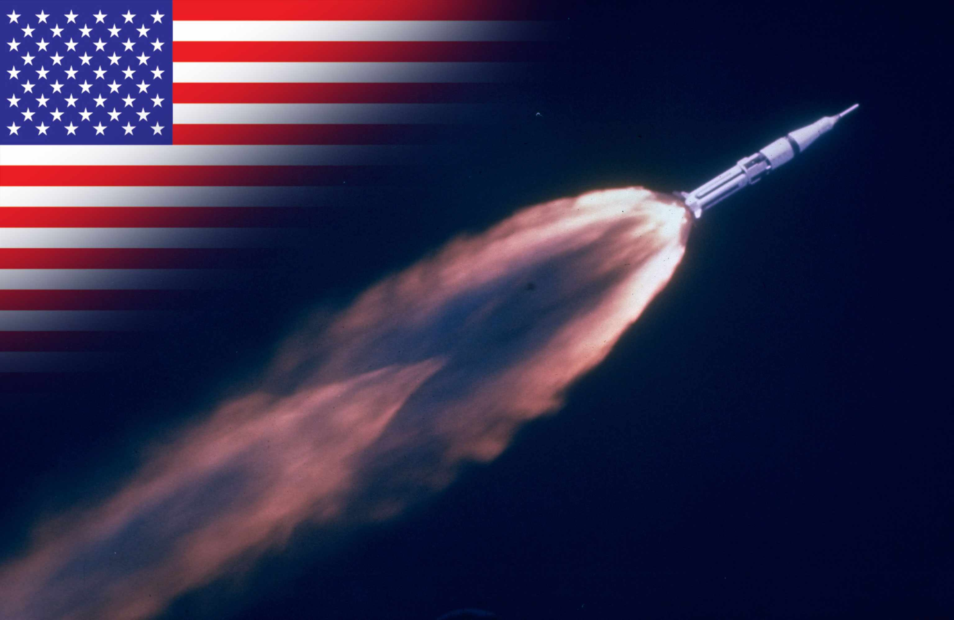 Apollo 7 launches on an 11-day mission to Earth orbit. © The LIFE Picture Collection via Getty Images/Getty Images