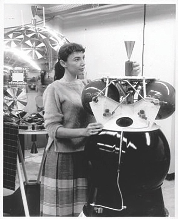 Judith Love Cohen worked as an aviation and space engineer from 1952 to 1990